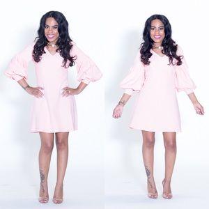 ac9d1a6c012 Dresses   Skirts - Powder Pink Ballon Sleeve